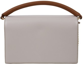 Diane von Furstenberg Beige Leather Handbag