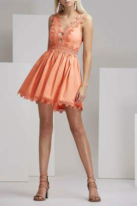 Finders Keepers Odelle Dress Apricot
