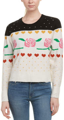 Wildfox Couture Shining Wool & Alpaca-Blend Sweater