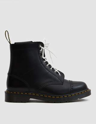 Dr. Martens Needles 1460 Smooth Leather Boot in Black