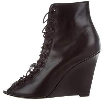 Givenchy Lace-Up Ankle Boots