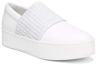 Vince Women's Weadon Leather Platform Sneakers