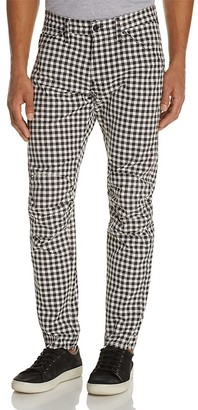 G-STAR RAW Elwood X25 Houndstooth Check New Tapered Fit Jeans by Pharrell Williams $170 thestylecure.com