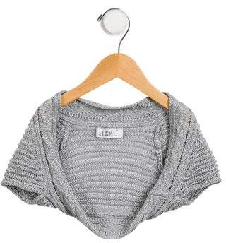 Elsy Girls' Open Cropped Cardigan