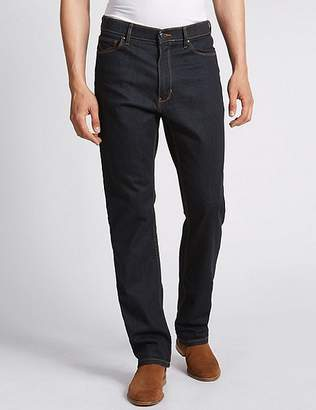 "Marks and Spencer Big & Tall Regular Fit Stretch Jeans with Stormwearâ""¢"