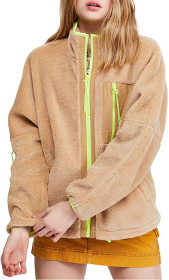 BDG Urban Outfitters Corduroy Patch Fleece Jacket