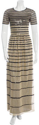 Alice by Temperley Embellished Mesh Gown $175 thestylecure.com