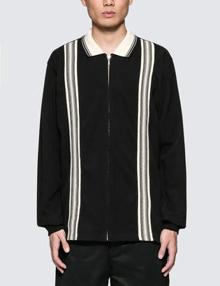 Thisisneverthat Zipup L/S Polo