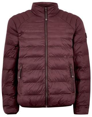 Topman Mens Red Burgundy Liner Jacket