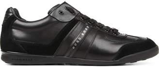 HUGO BOSS Aki leather trainers