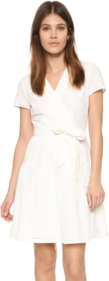 Diane von Furstenberg Kaley Two Wrap Dress $398 thestylecure.com