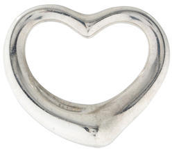 Tiffany & Co. Open Heart Pendant $95 thestylecure.com
