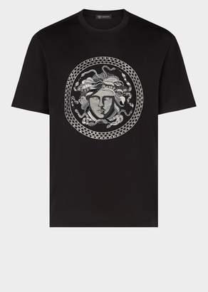 Versace Greek Key Medusa T-Shirt