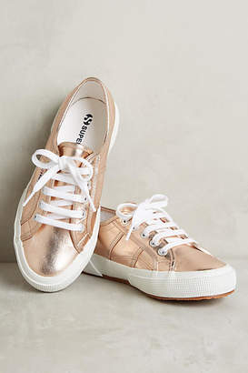Superga Metallic Sneakers $78 thestylecure.com
