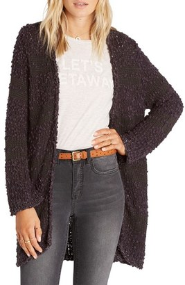 Billabong All Fur You Cardigan $74.95 thestylecure.com