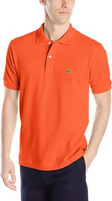 Lacoste Men's Short Sleeve Pique L.12.12 Classic Fit Polo Shirt, L1212