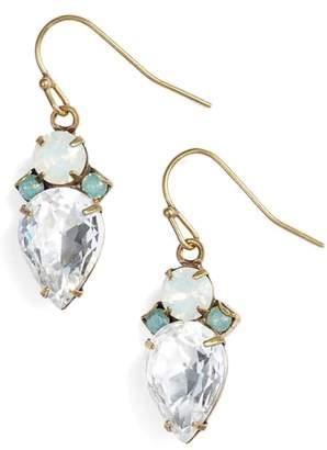Sorrelli Tearing Up Crystal Drop Earrings