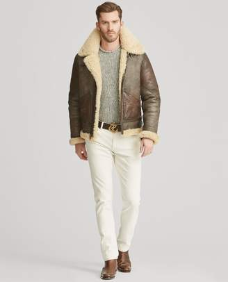 Ralph Lauren Shearling Aviator Jacket