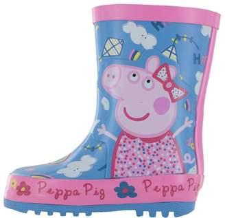 Peppa Pig Girls Kensey Wellies Wellington Boots UK Size 5
