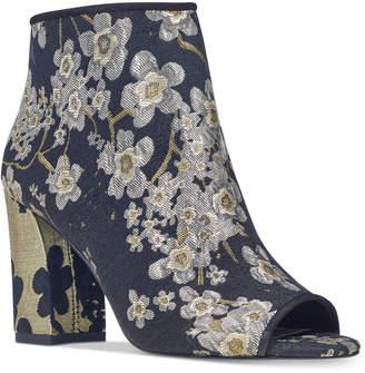 Nine West Haywood Block-Heel Booties Women's Shoes
