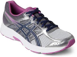 Asics Silver & Purple GEL-Contend 4 Running Sneakers