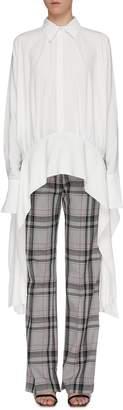 Victoria Victoria Beckham Victoria, Victoria Beckham Sash drape crepe shirt