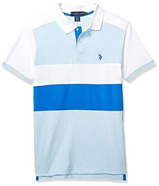 U.S. Polo Assn. Men's Short Sleeve Slim Fit Solid Jersey Polo Shirt