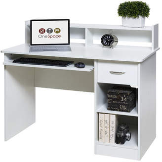 OneSpace Essential Computer Desk with Hutch