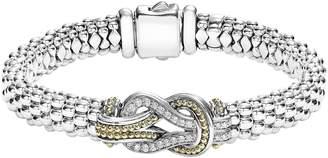 Lagos Caviar Newport Diamond Station Bracelet