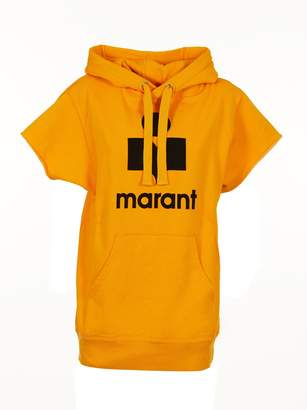 Etoile Isabel Marant Logo Print Hooded Top