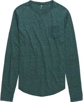 Stoic Daly Solid Henley - Men's