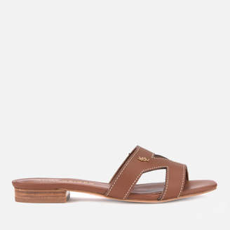 2a6258cf869220 Kurt Geiger London Women s Odina Leather Flat Sandals