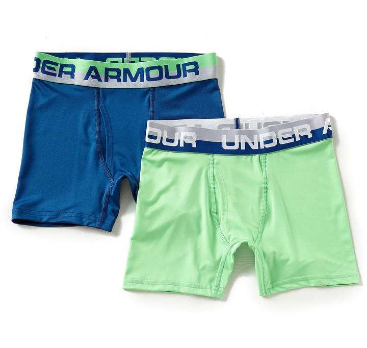 Big Boys 8-20 2-Pack Solid Boxer Brief Set