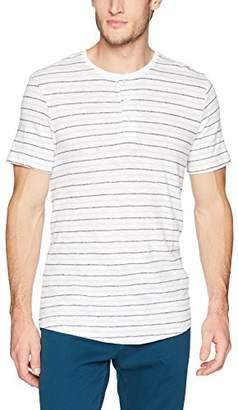 Calvin Klein Men's Short-Sleeve Cotton Henley T-Shirt