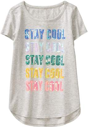 Crazy 8 Crazy8 Sparkle Stay Cool Tee