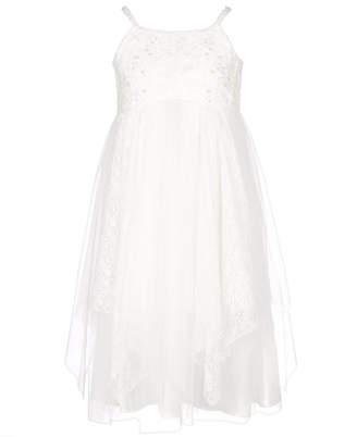 Bonnie Jean Big Girls Empire Waist Lace Dress