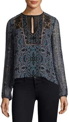 Nanette Lepore Women's Bella Silk Blouse