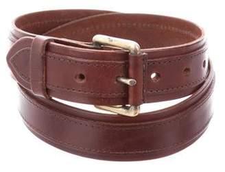 Dries Van Noten Leather Hip Belt
