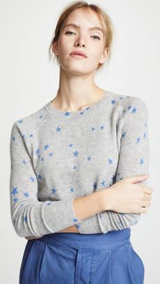 Autumn Cashmere Star Print Cashmere Sweatshirt