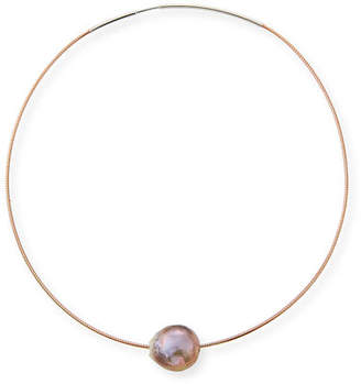 Margo Morrison Baroque Pearl Choker Necklace, 16""