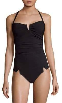 Shan Arsen One-Piece Bandeau Swimsuit