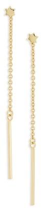Women's Shashi Luna Drop Earrings $40 thestylecure.com