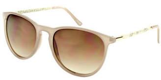 Lord & Taylor DESIGN LAB Erica 58mm Round Sunglasses