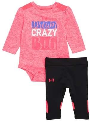 Under Armour Dream Crazy Big Bodysuit & Leggings Set