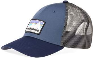 Patagonia Shop Sticker Patch Trucker Cap
