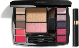 Chanel TRAVEL MAKEUP PALETTE Makeup Essentials with Travel Mascara in Harmonie de Camelias