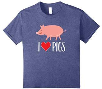 Pig T-shirt Cute Animal Gift Apparel