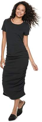 So Juniors' SO Ruched Side Midi Dress