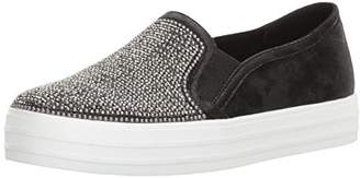 Skechers Women's Double up Shiny Dancer Fashion Sneaker
