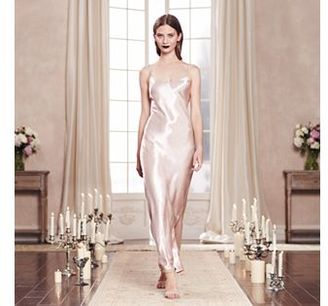 LC Lauren Conrad Runway Collection Satin Full-Length Gown - Women's $64 thestylecure.com